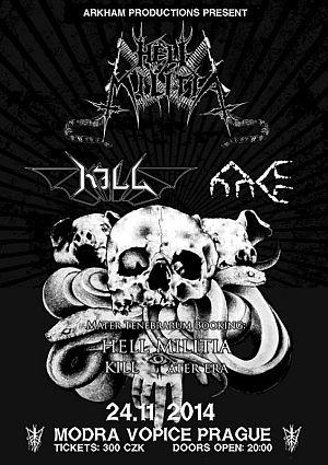 Hell Militia poster 2014