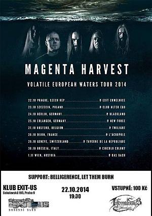 Magenta Harvest poster 2014