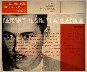 Paprsky inzenyra Garina Praha 2015 poster