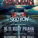 Saxon, Skid Row, Halcyon Way