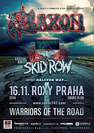 Saxon poster 2014