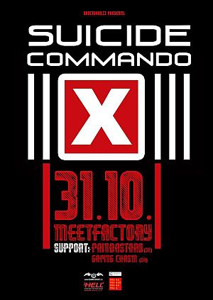 Suicide Commando poster 2014
