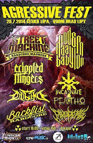 Agressive Fest 8 poster