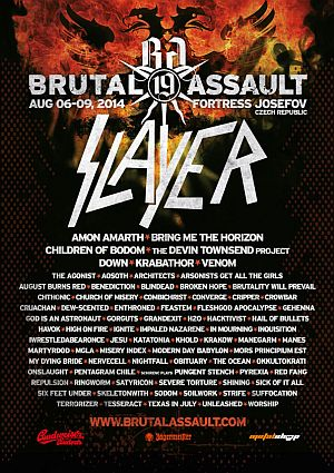 Brutal Assault 2014 poster