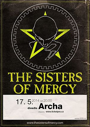 The Sisters of Mercy poster 2014