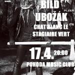 .:: ?ALOS [Ita] ~ BILD [Fr] ~ UBOŽÁK ~ CHAT BLANC LE STAGIAIRE VERT [Fr] ::. 17.4. @ Pohoda, Plzeň