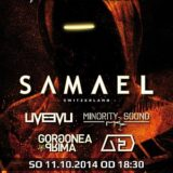 Samael, Liveevil, Minority Sound