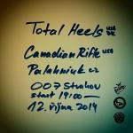 Total Heels, Canadian Rifle, Palahniuk