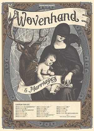 Wovenhand poster 2015