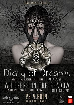 Diary of Dreams poster 2014