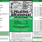 Multižánrové Poličské Rockoupání po osmnácté