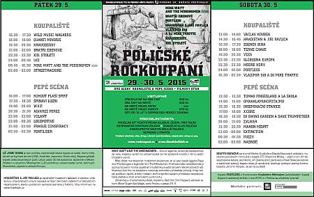 Rockoupani letak 2015
