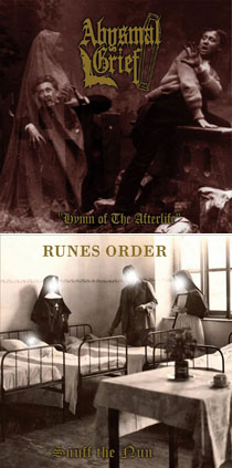 Abysmal Grief / Runes Order - Hymn of the Afterlife / Snuff the Nun