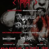 Forgotten Tomb, Nocturnal Depression, Secret of Darkness