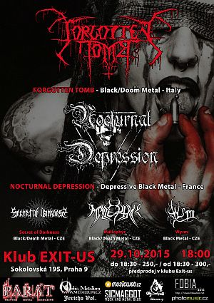 Forgotten Tomb, Nocturnal Depression
