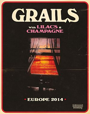 Grails, Lilacs and Champagne poster 2014