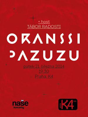 Oranssi Pazuzu poster 2014