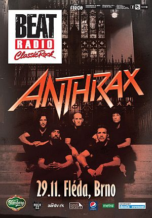 Anthrax poster 2012