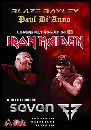 Blaze Bayley, Paul Di'Anno