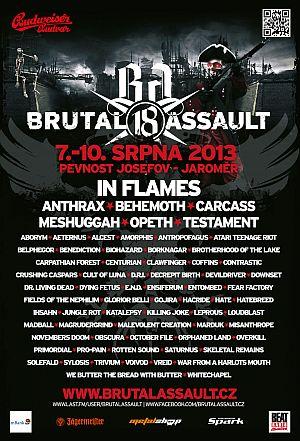 Brutal Assault 2013 poster