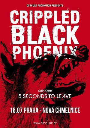 Crippled Black Phoenix poster 2013