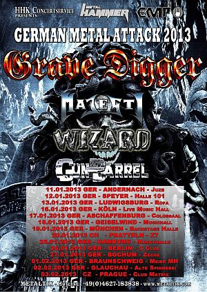 Grave Digger, Majesty, Wizard