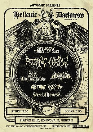 Rotting Christ, Dead Congregation, Ravencult