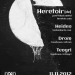Heretoir poster 2012