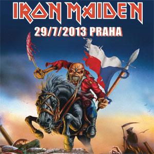 Iron Maiden poster 2013
