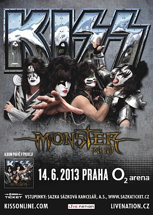 Kiss poster 2013