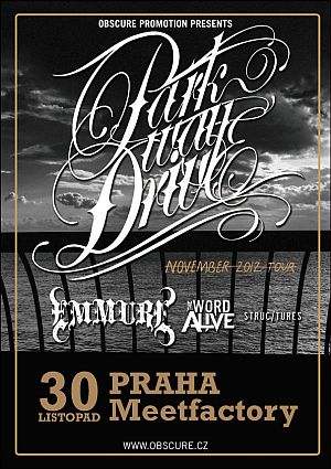 Parkway Drive poster 2012