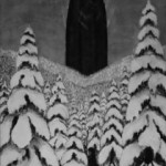 Paysage d'hiver - Das Tor