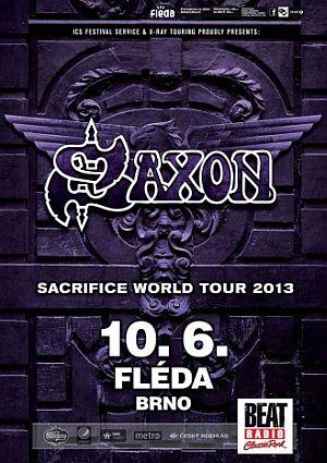 Saxon poster 2013