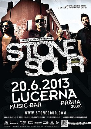 Stone Sour poster 2013