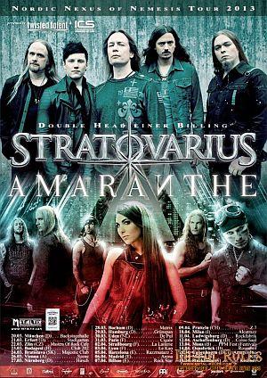 Stratovarius poster 2013