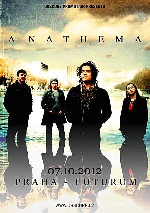 Anathema poster 2012