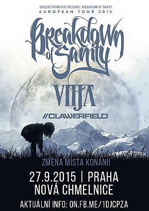 Breakdown of Sanity poster 2015