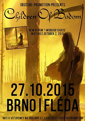 Children of Bodom poster 2015