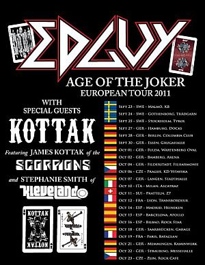 Edguy poster 2011