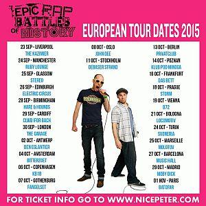 Epic Rap Battles of History poster 2015