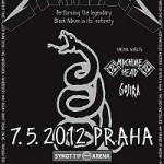 Metallica poster 2012