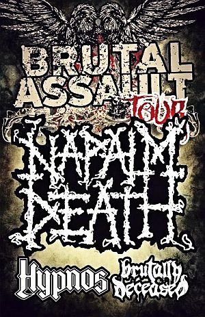 Napalm Death poster 2012