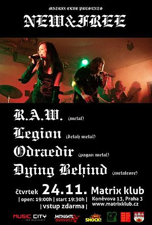 RAW, Legion poster 2011