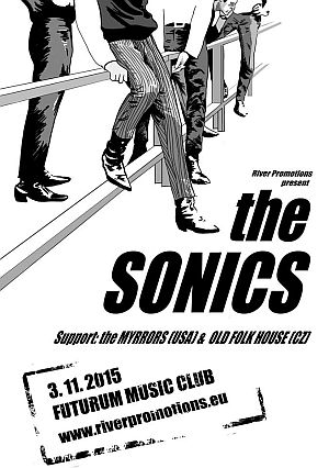 The Sonics poster 2015