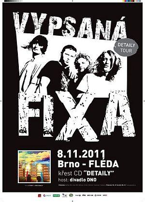 Vypsaná fixa poster 2011