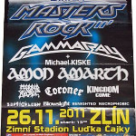 Winter Masters of Rock 2011 poster