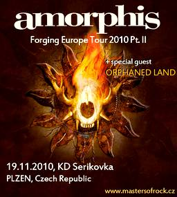 Amorphis poster 2010