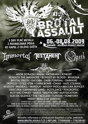 Brutal Assault 14 poster