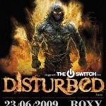 Disturbed poster 2009