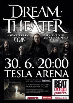 Dream Theater poster 2009